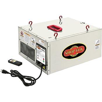 Shop Fox W1830 3-Speed Hanging Air Filter
