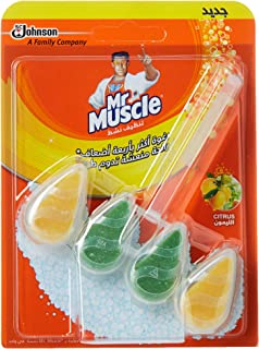Mr. Muscle 5 in 1 Toilet Cleaner - Citrus, 30 g