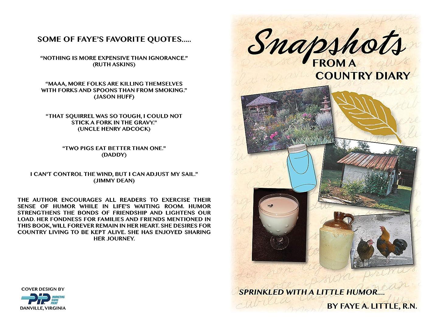 レンド家庭反射Snapshots From A Country Diary Sprinkled With A Little Humor (English Edition)