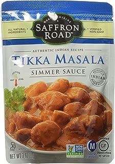 Saffron Road Tikka Masala Simmer Sauce, 7 oz