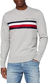 Tommy Hilfiger Hilfiger Logo Sweatshirt Maglione Uomo