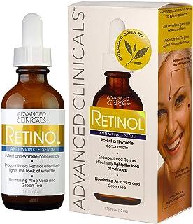 Advanced Clinicals anti wrinkle retinol serum