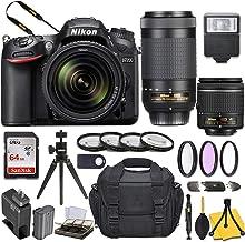 $949 » Nikon D7200 DSLR Camera with AF-P DX NIKKOR 18-55mm f/3.5-5.6G VR + AF-P DX NIKKOR 70-300mm f/4.5-6.3G ED Lens and Basic Travel Kit