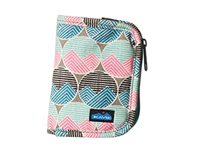 KAVU Zippy Wallet (Horizon Dots) Bags