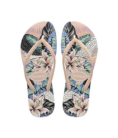 Havaianas Slim Animal Floral Sandal