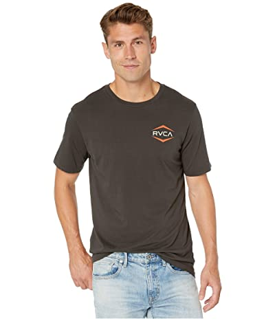 RVCA Astro Hex Short Sleeve T-Shirt (Pirate Black) Men