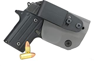 FoxX Holsters Deluxe Trapp Kydex IWB Holster - Compatible for Sig Sauer P238 Our Smallest Inside Waistband Holster Adjustable Cant & Retention, Conceal Carry