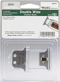 Wahl Professional T-Wide Adjustable Trimmer Blade set #2215