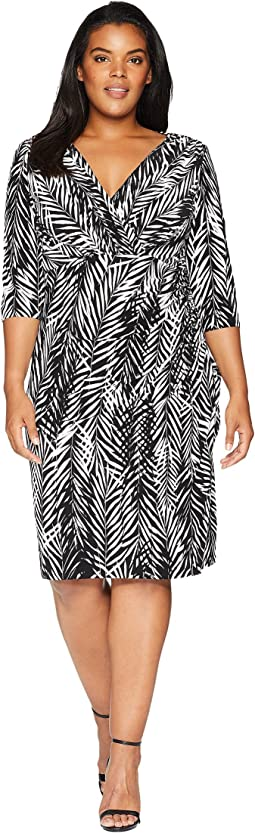 Plus Size Chelsie Zebra Twigs