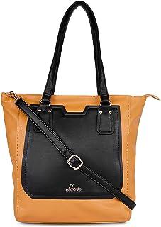 Lavie RupabhedaLarge Vertical Women's Tote Bag (Ochre)
