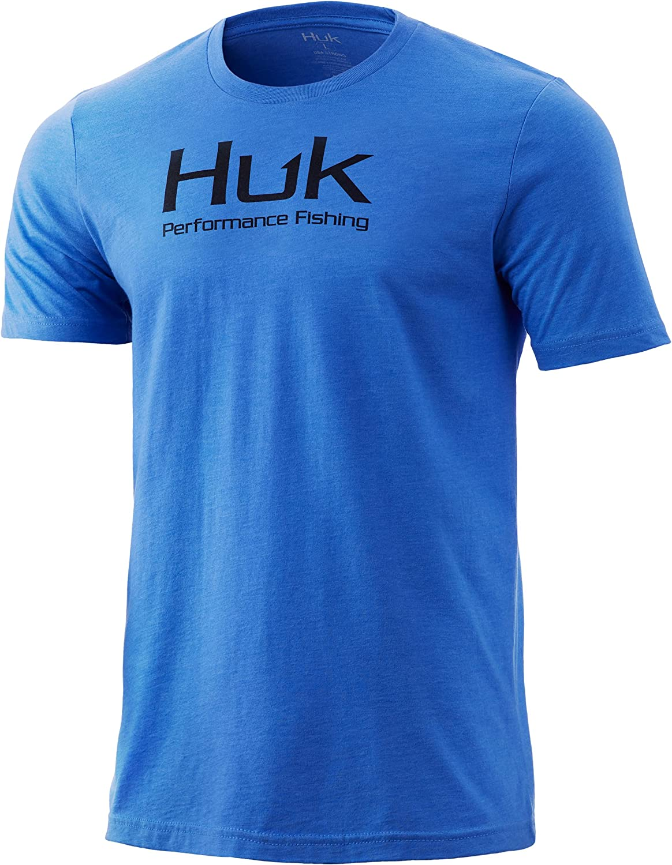 Portland Mall HUK Men's Performance Fishing Soldering Quick-Dry Sleeve Tee-Short Logo