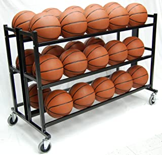 Heavy Duty Double Wide Ball Cart