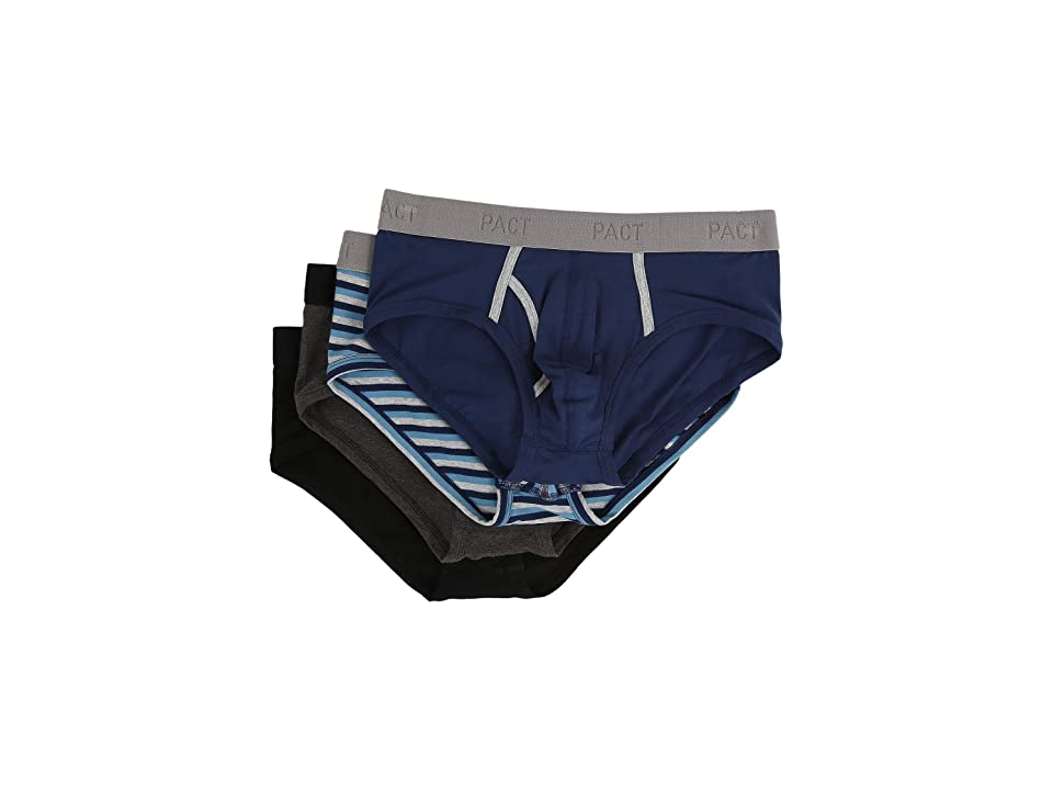 PACT Everyday Brief 4-Pack (Multi) Men