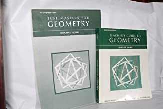 Teacher's Guide to Geometry & Test Masters for Geometry ( both Paperback)