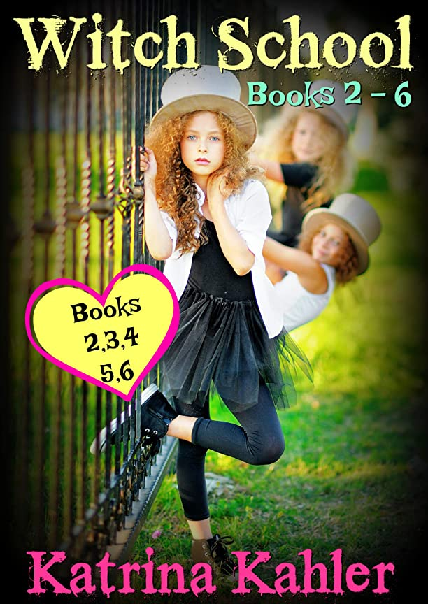 パドル生態学大脳WITCH SCHOOL - Books 2-6: Miss Moffat's Academy for Refined Young Witches (English Edition)
