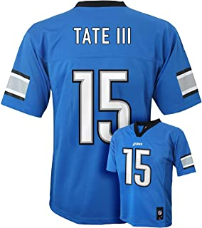 Outerstuff Golden Tate III Detroit Lions #15 Blue Kids Mid Tier Home Jersey
