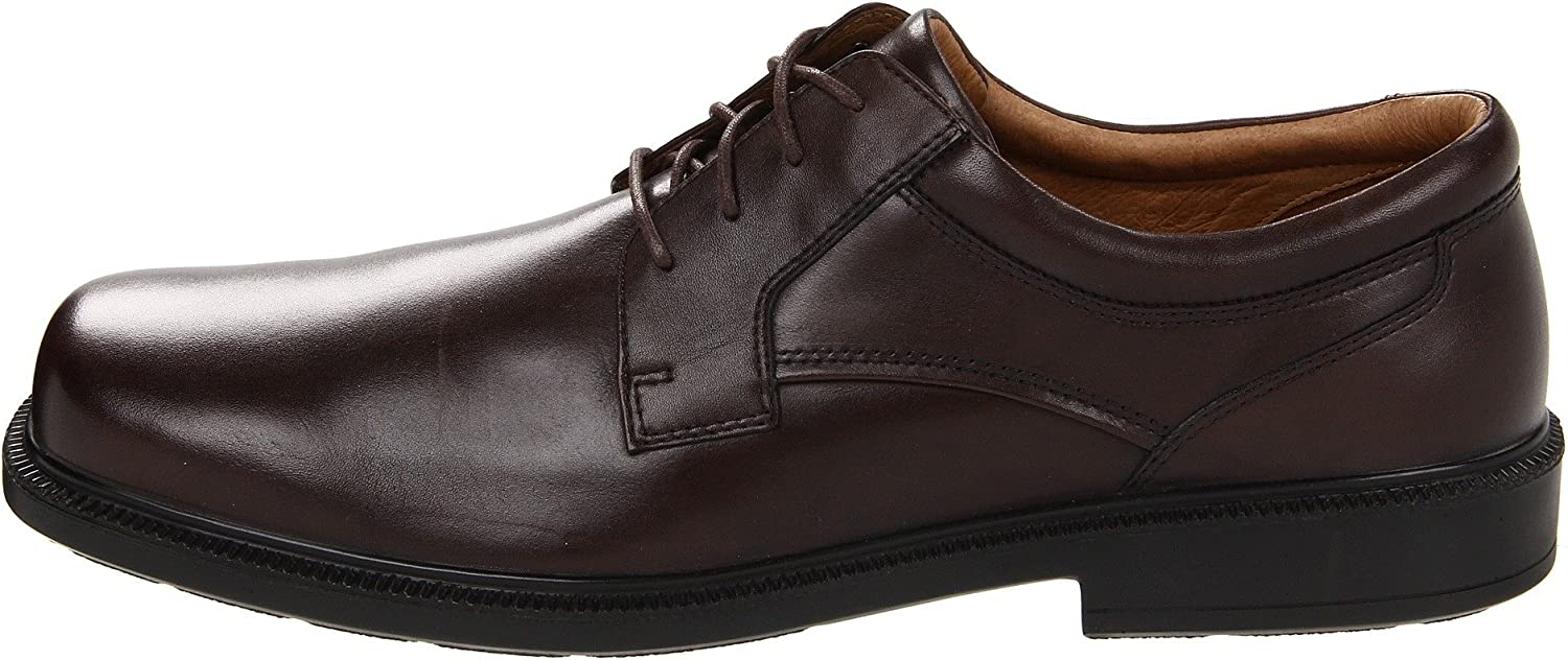 Hush Puppies Men's Strategy Oxford,Brown,13 M US