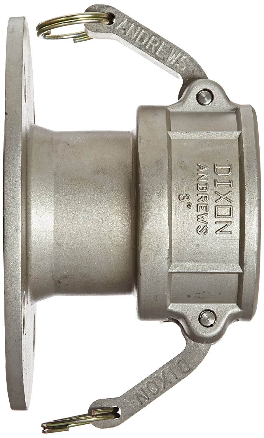 Dixon 200-DL-SS Stainless Steel 316 Cam and Groove Hose Fitting 2 Socket x 150# ASA Flange
