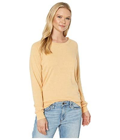 Alternative Eco-Heather Slouchy Pullover (Eco Stay Gold) Women