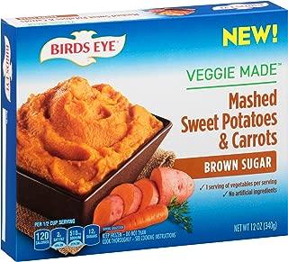 Birds Eye Steamfresh Veggie Made, Mashed Sweet Potatoes & Carrots with Brown Sugar, 12 Ounce (Frozen)