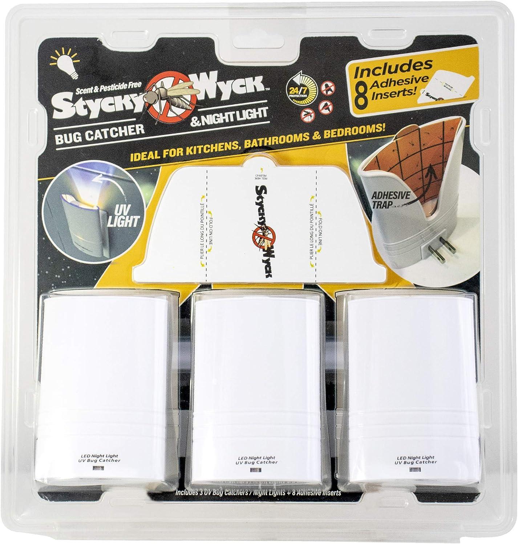 Stycky Topics on TV Wyck LED UV Bug Catcher Plug in Multi-Pack Denver Mall - Zapper
