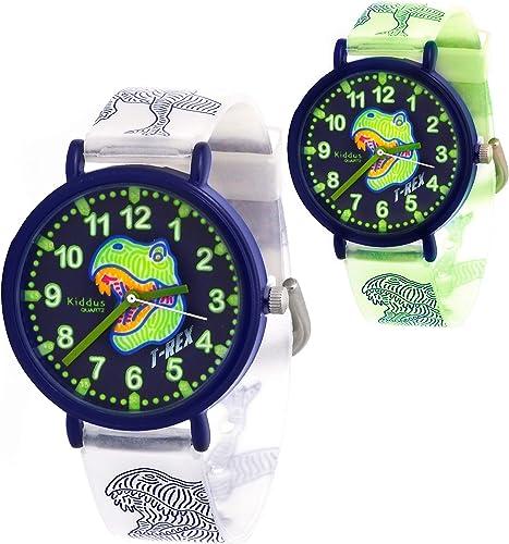 KIDDUS Reloj Educativo Analógico para niño, niña. Aprende la Hora con Nuestro Fácil Sistema Time Teacher. Ejercicios ...