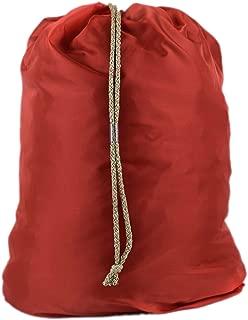 Huge Heavy Duty Nylon Laundry Storage Bags with Drawstring, Durable, Machine Washable 40' x 50