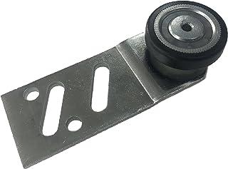 Camino de la puerta trasera rodamientos rueda percha para puerta de armario caliente recto nailon tipo