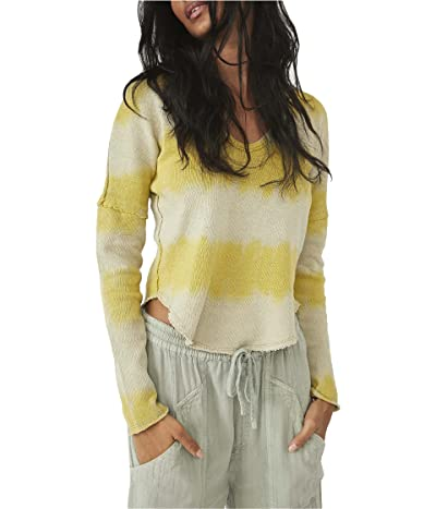 Free People Come and Get It Washed Stripe Tee