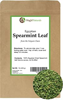 Spearmint | 100% Raw from Egypt | Cut and Sifted | Egyptian fields at Faiyum Oasis