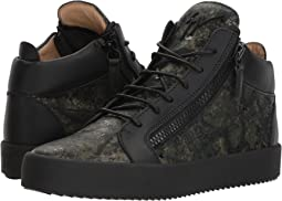 May London Camo Mid Top Sneaker