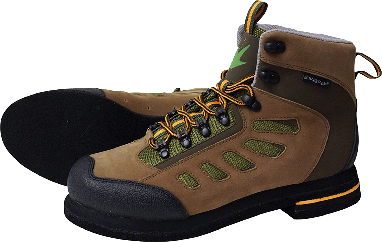 Frogg Toggs Anura Felt Wading Boot Brown-Olive