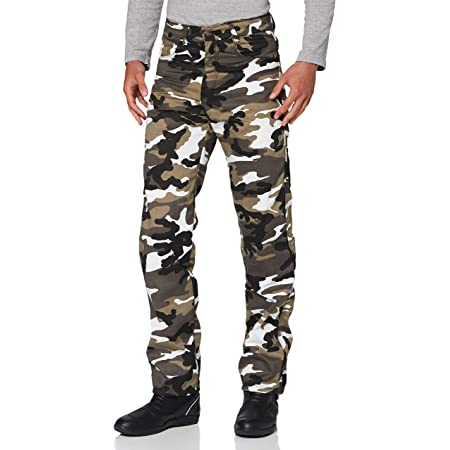 Bikers Gear Motorrad Jeans Cargohose Kevlar Ce Protektoren Camouflage Eu 40 Lang Auto