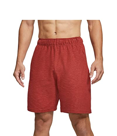 Nike Yoga Core Shorts (Dark Cayenne/Black) Men