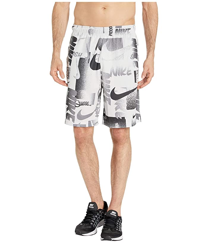 Nike Dry Shorts 4.0 All Over Print 1 (White/Black) Men