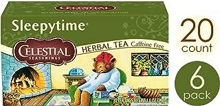 Celestial Seasonings Herbal Tea, Sleepytime, 20 Count, Pack of 6