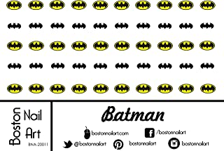 Batman Waterslide Nail Decals - 50pc