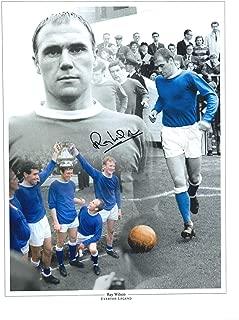 Ray Wilson Everton Autographed 12