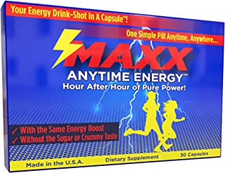 Fast, Brain Focus-Energy   221mg Caffeine, No Sugar or Chemicals   Made in USA   Same Active Ingredients As Energy Drinks   No Calories and No Water