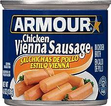 Armour Star Chicken Vienna Sausage, 4.6 oz. (Pack of 24)