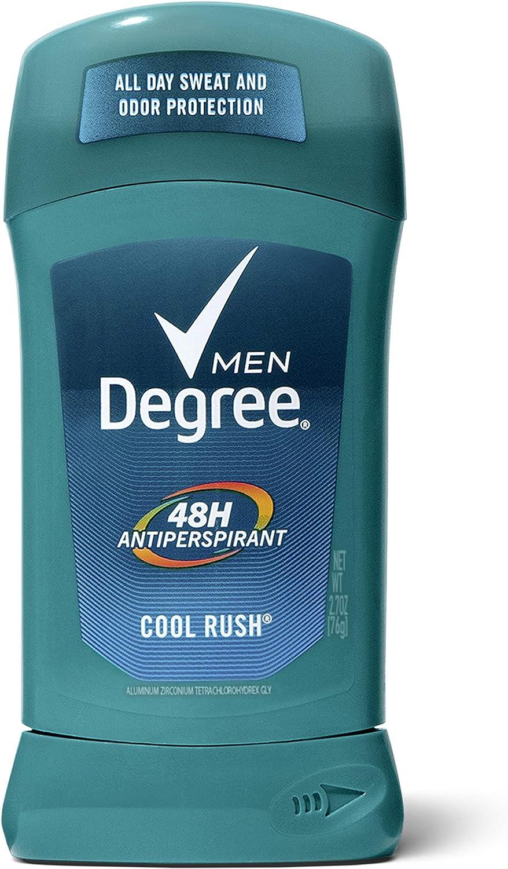 5% OFF Degree New product Men Original Antiperspirant Odor Protec Deodorant 48-Hour