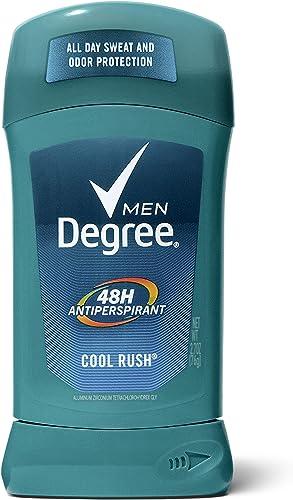 Degree Men Dry Protection Antiperspirant Deodorant, Cool Rush 2.7 oz