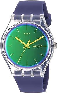 Transformation Quartz Silicone Strap, Purple, 20 Casual Watch (Model: SUOK712)