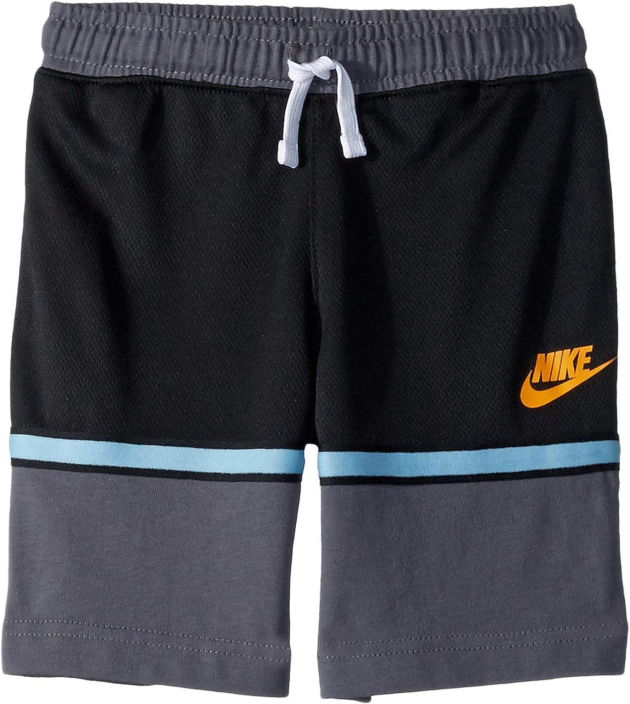 Nike Kids Boy's Essential Mesh Logo Shorts (Little Kids)