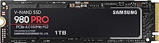 SAMSUNG 980 PRO 1TB PCIe NVMe Gen4 Internal Gaming SSD M.2 (MZ-V8P1T0B)