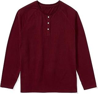 Men's Big & Tall Long-Sleeve Henley Shirt fit by DXL