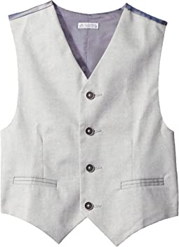 Calvin Klein Kids - Tick Weave Vest (Big Kids)