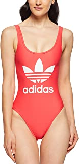 adidas Women's 3-Stripes Trefoil Swimsuit