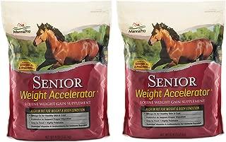 Manna Pro Senior Weight Accelerator for Horses, 8 lb