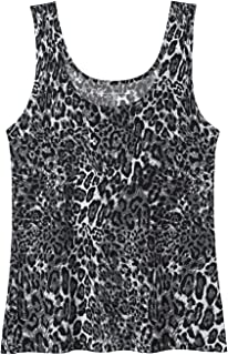 Womens Basic Layering Tank Tops Seamless Stretch Cami Nylon Undershirt Tank Pack